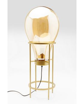 TABLE LAMP PEAR FRAME 78CM