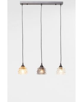 PENDANT LAMP  RUFFLE DINING VISIBLE  (EXCLUDING BULB AND SOCKET)