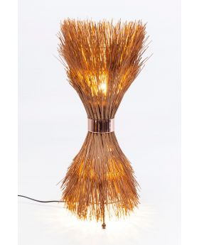 TABLE LAMP STRAW  (EXCLUDING BULB)
