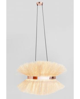 PENDANT LAMP STRAW  (EXCLUDING BULB AND SOCKET)