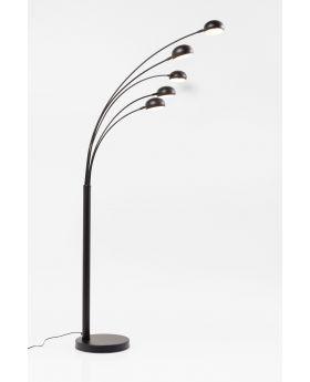FLOOR LAMP  FIVE FINGERS BLACK MATT (EXCLUDING BULB)