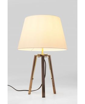 Table Lamp Tripot Think,White (Excluding Bulb)