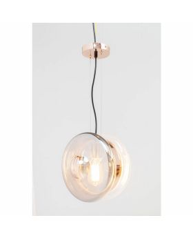 PENDANT LAMP JOJO CHROME  O-28CM (EXCLUDING BULB)