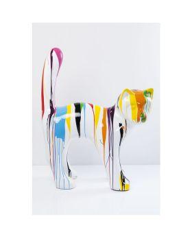 Deco Object Cat Xl White Color