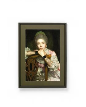 Picture Frame Incognito Sitting Countess