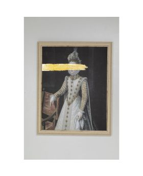 OIL PAINTING FRAME INCOGNITO BARONESS