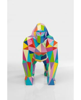 DECO OBJECT GORILLA XL MOTLEY,BLUE