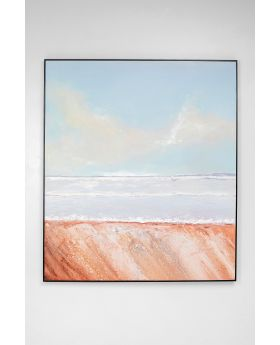 ACRYLIC PAINTING FRAME BEACH VIEW150X130