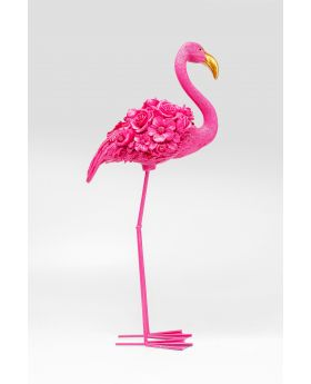 DECO OBJECT FLAMINGO FLOWER PINK 75CM,