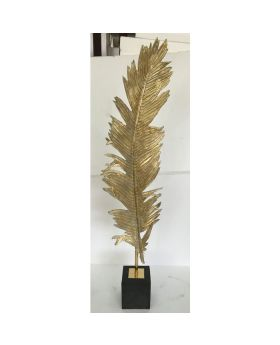 DECO OBJECT FEATHER TWO 147CM