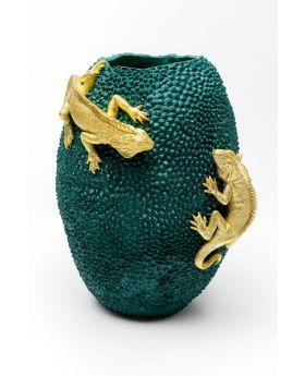 Vase Chameleon Jack Fruit 39Cm,Golden