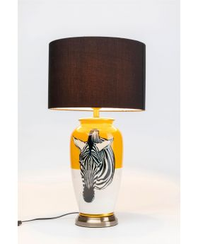TABLE LAMP ZEBRA YELLOW (EXCLUDING BULB)