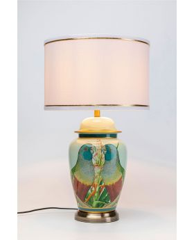 Table Lamp Parrot Couple (Excluding Bulb)