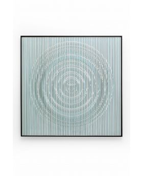 Deco Frame Art Circle 100X100Cm,Blue