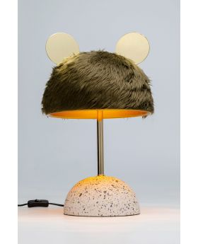 Table Lamp Ear,Green (Excluding Bulb)