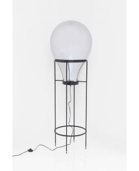 Floor Lamp Pear Frame Black 158 (Excluding Bulb)