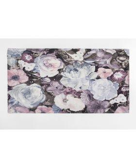 Carpet Floral Pastel ,Multicoloured