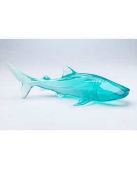 DEKO OBJECT VISIBLE WHALE BLUE
