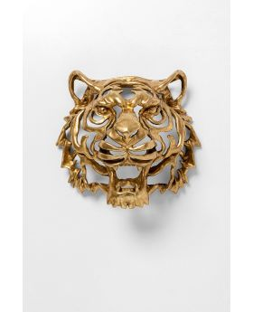 WALL DECORATION TIGER GOLD