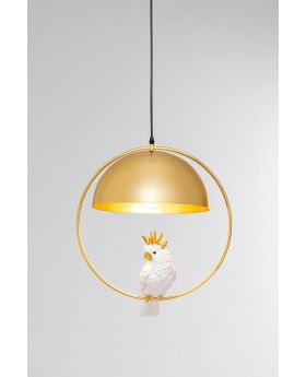 Pendant Lamp Cockatoo,Golden (Excluding Bulb And Socket)