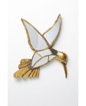 Wall Decoration Hummingbird Mirror 60Cm