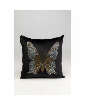 CUSHION DIAMOND BUTTERFLY 45X45CM