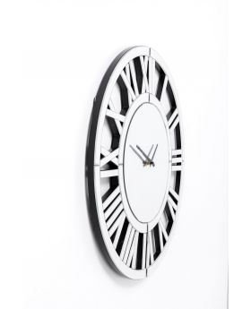 Wall Clock Specchio Dia60Cm,Mirrored