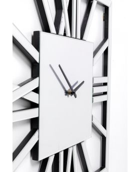 Wall Clock Specchio Square ,Mirrored