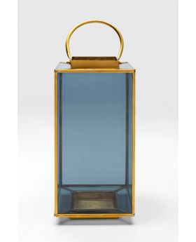 LANTERN NOIR SMALL,GOLDEN