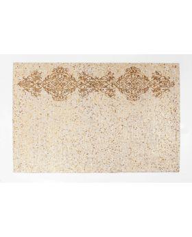 Carpet Ornaments Beige 240X170Cm,Beige