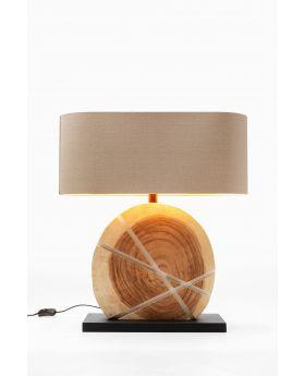 TABLE LAMP GEOMETRIX WHITE  (EXCLUDING BULB)