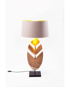 Table Lamp Feather (Excluding Bulb)