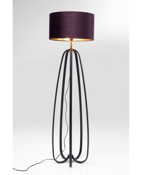 FLOOR LAMP LOOP,GOLDEN  (EXCLUDING BULB)