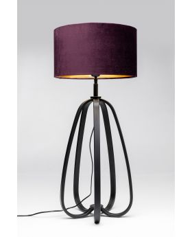 TABLE LAMP LOOP,BLACK  (EXCLUDING BULB)