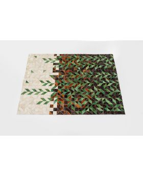 Carpet Snippet Forest 170X240Cm,Beige