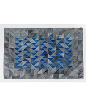 Carpet Triangle Grey 170X240Cm,Grey