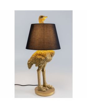 Floor Lamp Ostrich Golden (Excluding Bulb)