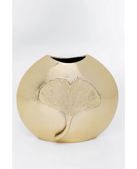 Vase  Ginkgo Leaf 25 Gold