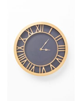 Wall Clock Luxembourg Dia33Cm,Golden