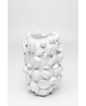 Vase Body Parts 37Cm,White