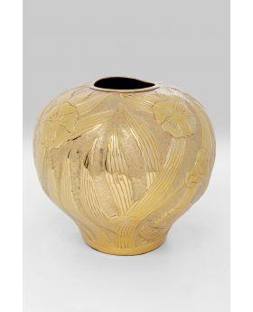 Vase Victoria Belly Gold 34Cm