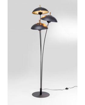 FLOOR LAMP PARACHUTE TRE,BLACK  (EXCLUDING BULB)