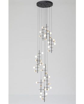 Pendant Lamp Trapez 280Cm (Excluding Bulb And Socket)