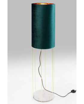 FLOOR LAMP CAFETERIA LOUNGE TURQUOISE  (EXCLUDING BULB)