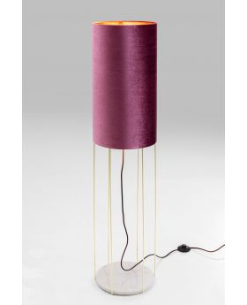 Floor Lamp Cafeteria Lounge Purple 135Cm (Excluding Bulb)