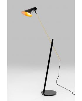 Floor Lamp Axe,Black (Excluding Bulb)