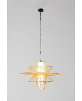 Pendant Lamp Cappello Opposto Gold (Excluding Bulb And Socket)