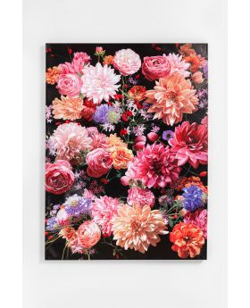 Picture Touched Flower Bouquet 120X90