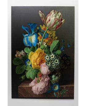 Picture Glass Flowers Harmony 100X150
