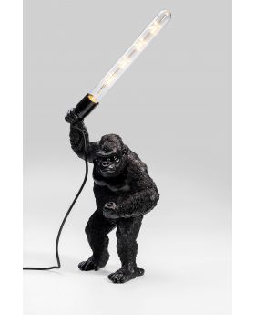 Table Lamp Fighting Kong Mat Black (Excluding Bulb)